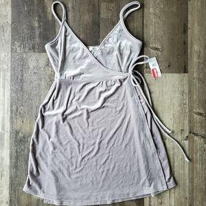BP velvet dress